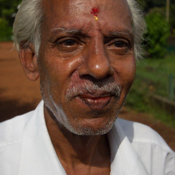 Old Gentleman in Mumbai Park