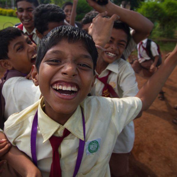 Kids in Mumbai