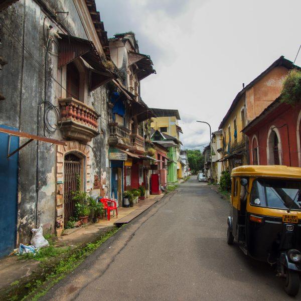 Panjim Street, Goa, India