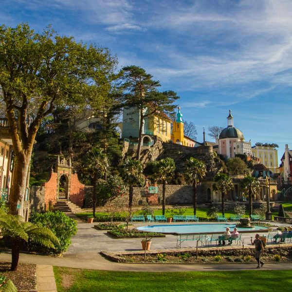 Portmeirion Stock Images